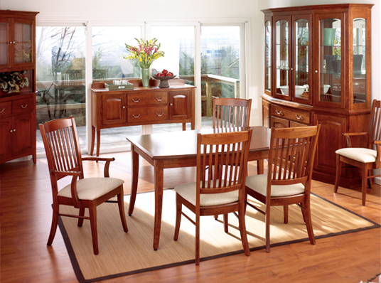 dining room furniture mission shaker style sets dining