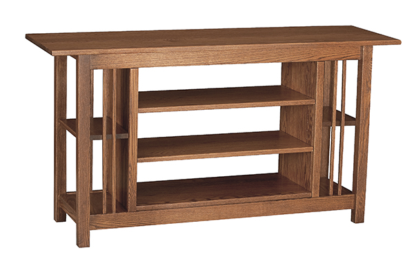 Mission Style Wooden TV-Television Stands in oak, pine and even cherry ...
